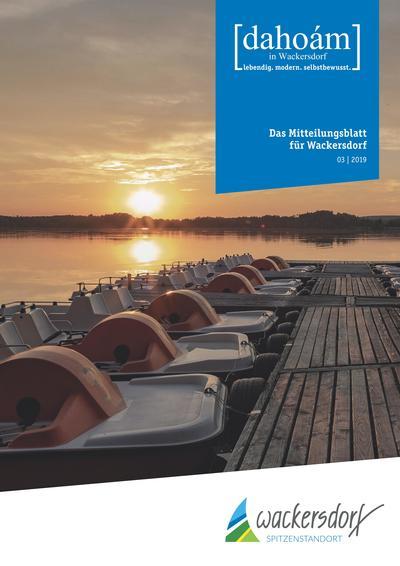 Mitteilungsblatt 3 / 2019