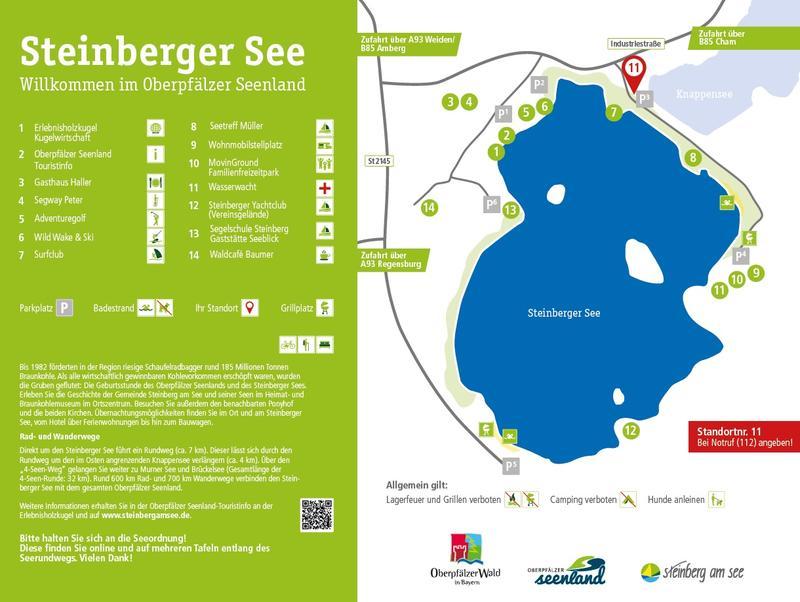 Wassertemperatur Steinberger See