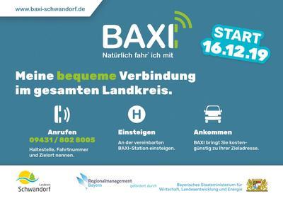 BAXI - Ihr Anrufbus im Landkreis Schwandorf