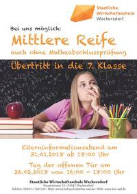 Staatliche Wirtschaftsschule Wackersdorf
